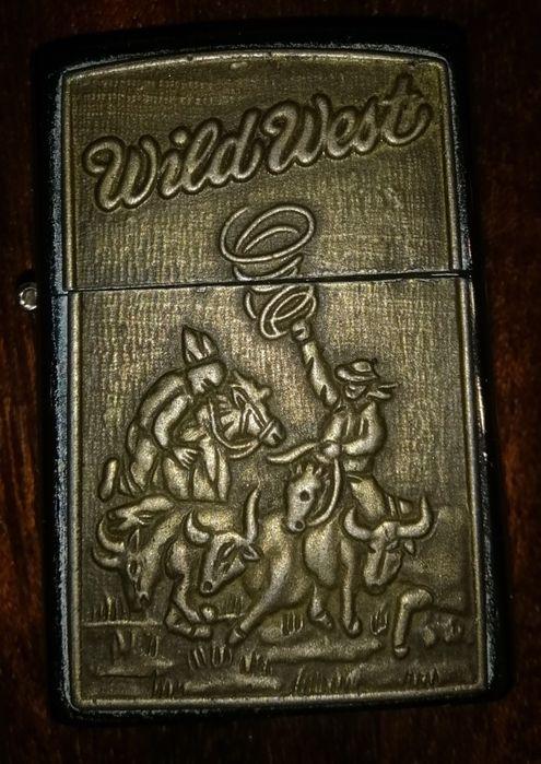 ТОРГ УМЕСТЕН! Зажигалка Zippo Wild West бензин. ОРИГИНАЛ!!! Мелитополь - изображение 1