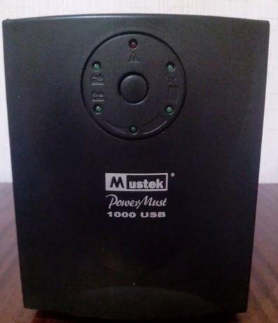 источник бесперебойного питания Mustek PowerMust 1000VA Plus 600W