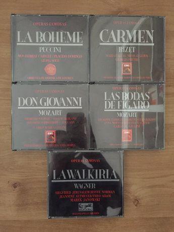 Coleção CDS óperas famosas