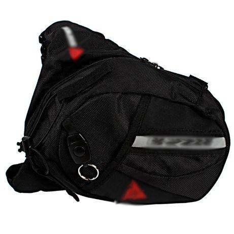 Bolsa de perna/cintura para mota, bicicleta..