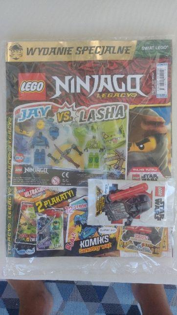 LEGO Ninjago magazyn gazetka Jay vs. Lasha