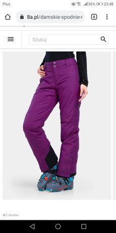 Damskie spodnie narciarskie Columbia rozmiar XS