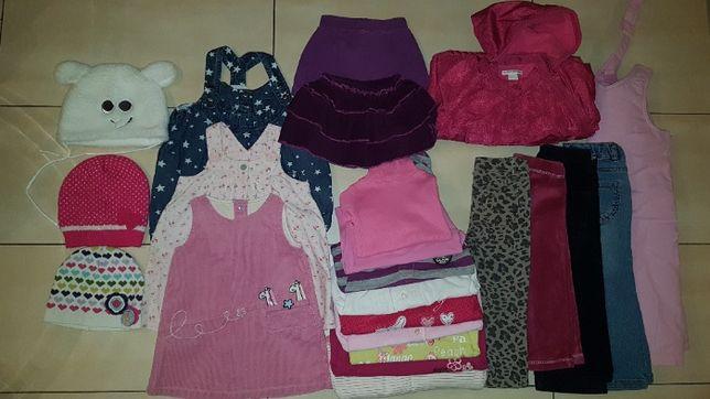 Ubranka na zimę dla dziewczynki