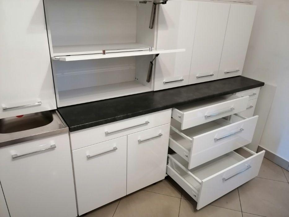 Kuchnia 2,8m, meble kuchenne280cm modułowe front połysk, Cichy domyk Nowy Sącz - image 1