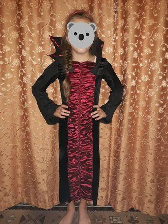 Новогодний, маскарадный костюм, платье Хэллоуин на 12-14лет