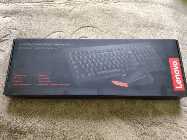 Lenovo 500 Wireless Combo Keyboard & Mouse