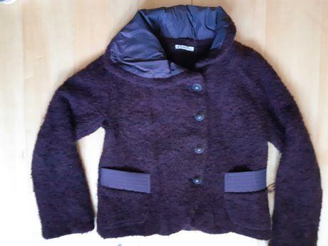 wyjątkowa kurtka krótka, wełniana rozmiar 40 - 42