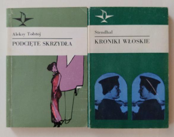 Ksiażki z serii Koliber znanych pisarzy