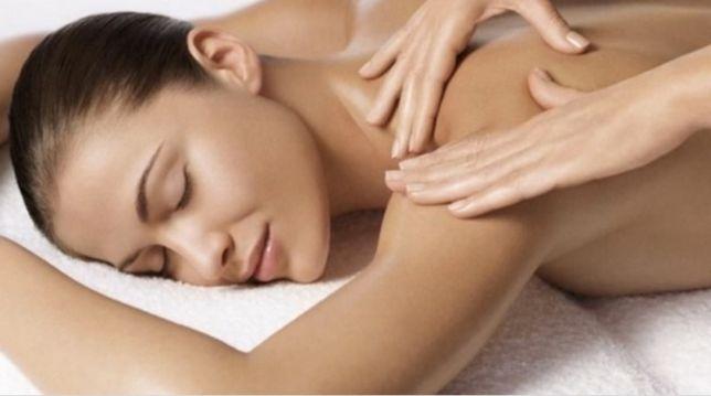 Лечебный массаж тела, спины