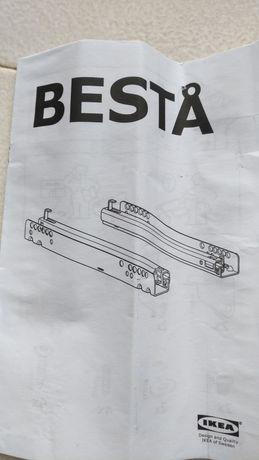 Calhas Ikea abertura gaveta com mola