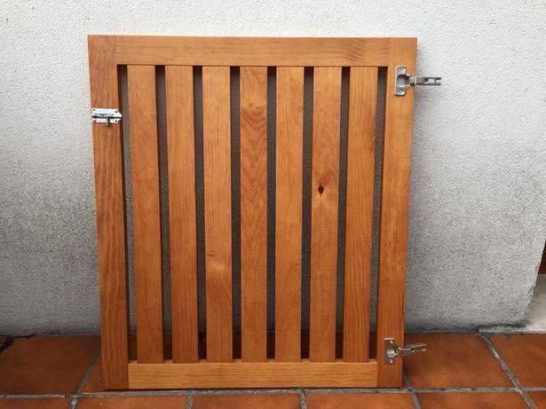 Grade proteção de escada