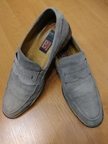 туфли мужские  лоферы мокасины