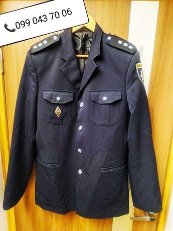 Китель полиции, брюки, рубашка полиция, комплект, парадная форма