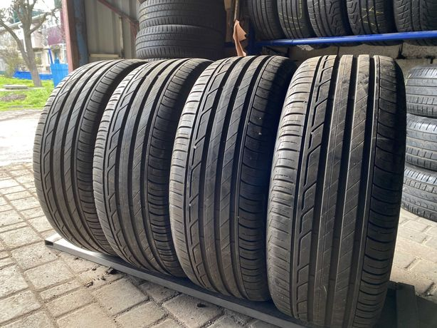 лето 225\55\R17 7.4мм Bridgestone Turanza T001 4шт шины шини