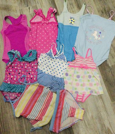 Купальник на девочку 1—2 года, 3—4 года, 8—10 лет