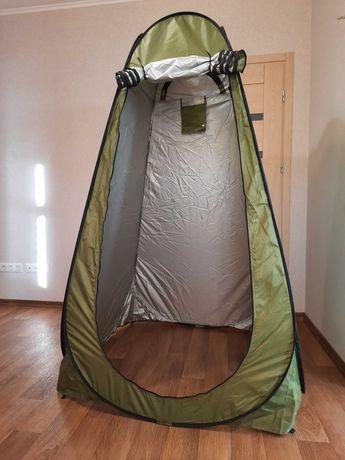 Палатка для переодевания, душ, туалет