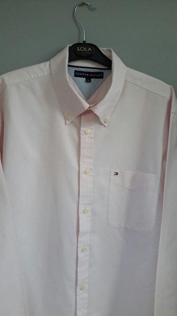 Koszula różowa Tommy Hilfiger roz Xl