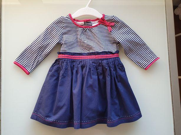 Ładna sukienka dziewczęca wiosenna 68 cm!