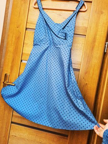 Sukienka niebieska pretty girl 40