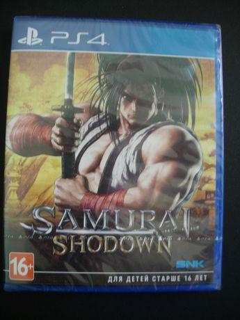 Samurai Shodown Рs4. Запечатанный Диск, Новый
