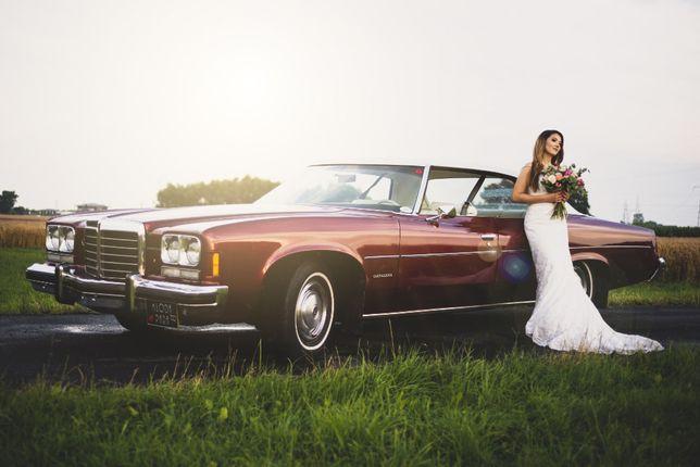 Auto do ślubu, klasyk Pontiac Catalina 1974r Samochód na wesele