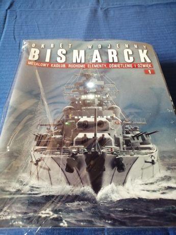 Okręt wojenny Bismarck od 1 do 9 prenumerata.