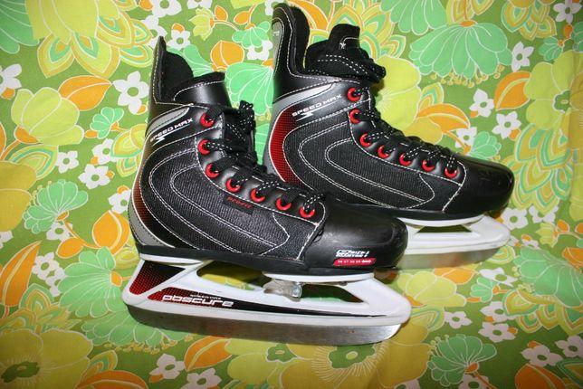 Хоккейные коньки Obscure, Speed Max,Pro Fit раздвижные