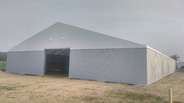 Hala magazynowa namiotowa 25mx50mx4m GAJ-STAL