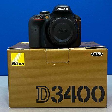 Nikon D3400 (Corpo) - 24.2MP