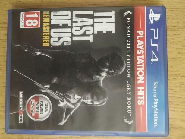 The Last od Us ps4 remastered wersja pl.