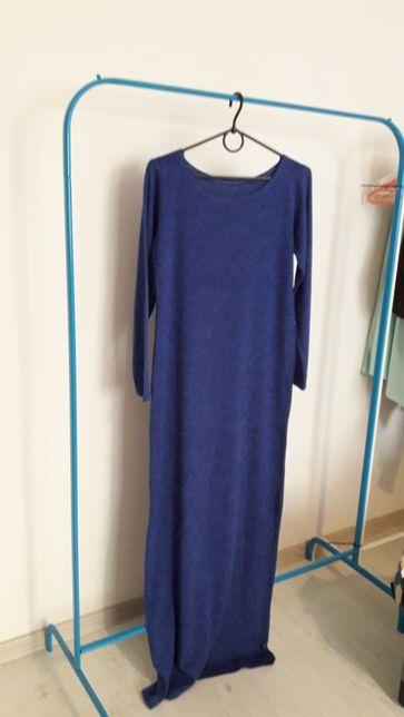 Продам новое,теплое, ангоровое платье в пол.Отличное качество