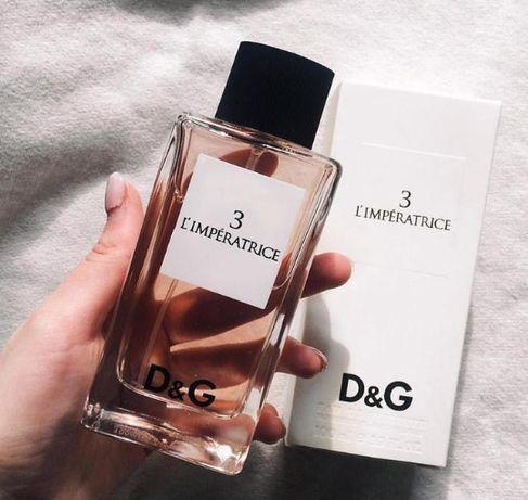 Dolce & Gabbana 3 L'Imperatrice 100мл туалетная вода Императрица женск