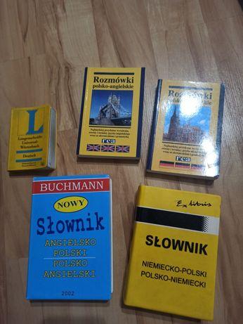 Słowniki polsko angielskie, polsko niemieckie