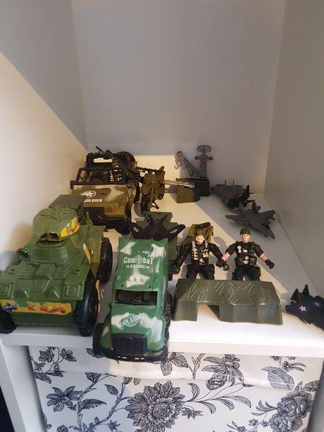 Zabawki wojsko żołnierze