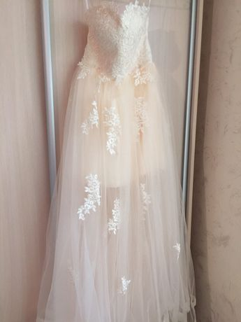 Платье свадебное/ Весільна сукня Коктейльное