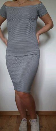 Bershka S/M sukienka tuba ołówkowa
