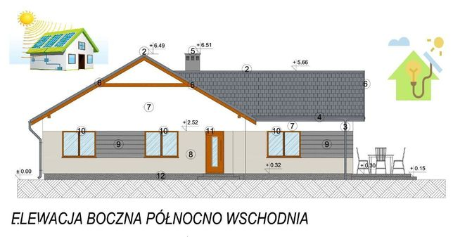 90m2 ENERGOOSZCZĘDNY z fotowoltaiką - Wilkowice