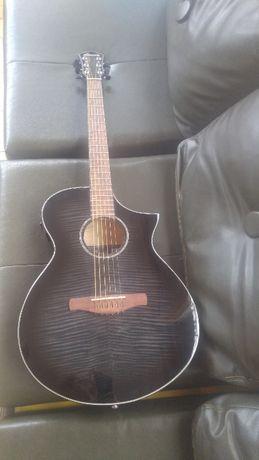 Gitara akustyczna elektryczna Ibanez AEWC400-TKS na gwarancji