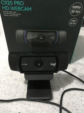 Kamera Logitech C920 PRO HD 1080p uszkodzona wtyczka USB stream lekcje