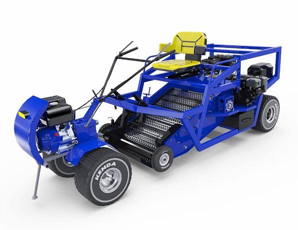 машина для чистки пляжа и песка СМ-4 SM-4 модель