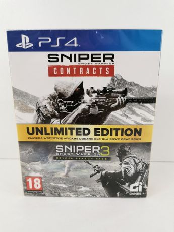 SNIPER UNLIMITED EDITION Ghost Warrior 3 i Contracts PL PS4 / Poznań /