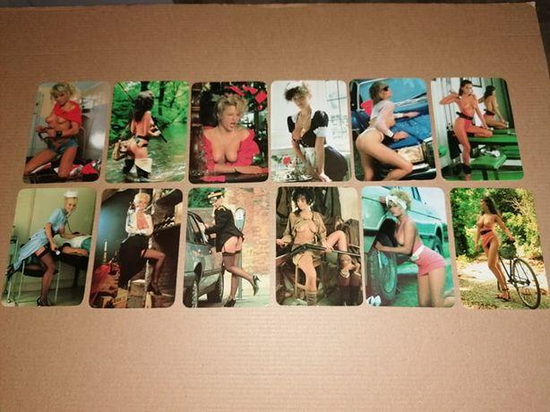 Lote 54 Calendarios Eróticos