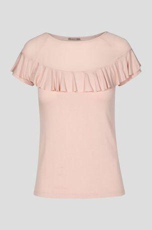 Orsay Koszulka bluzka NOWA z metką roz XS, pudrowy róż