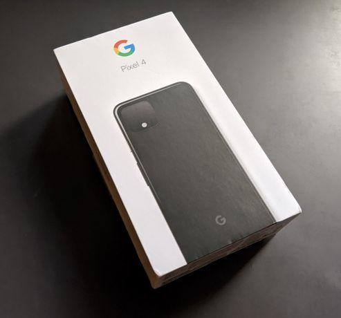 В наличии Новый Google Pixel 4 64Gb Black Чёрный Киев Unlocked