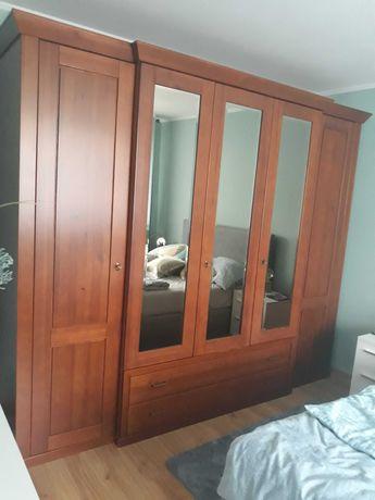 Szafa 5 drzwiowa z lustrami