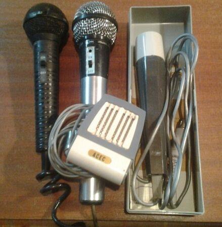 Mikrofony dla kolekcjonerów !!!