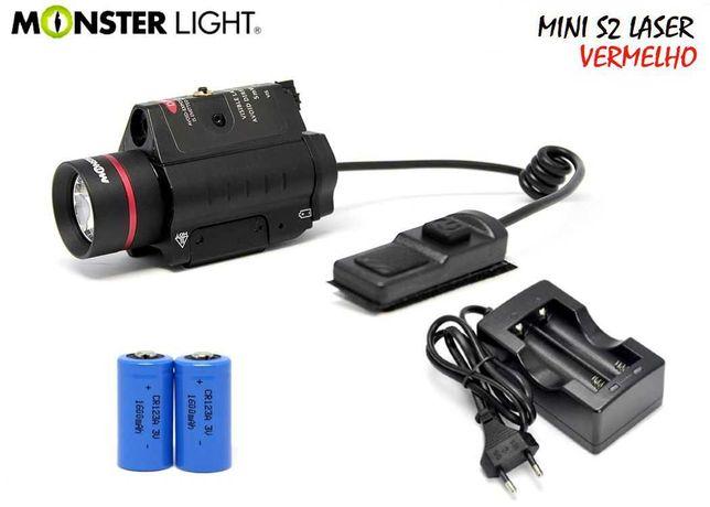 Kit lanterna e Laser vermelho Monsterlight Combinação para Espingarda
