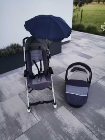 Wózek Chicco spacerówka - parasolka plus gondola