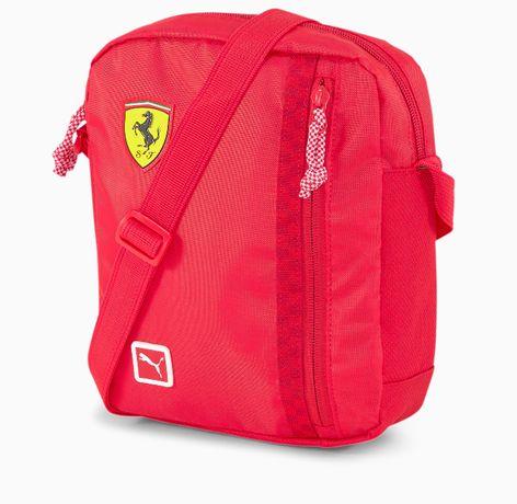 PUMA Scuderia Ferrari Fanwear * Torba na ramię, raportówka * NOWA
