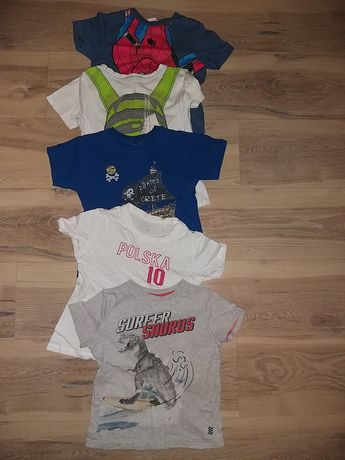 Koszulki i piżamki 110-116